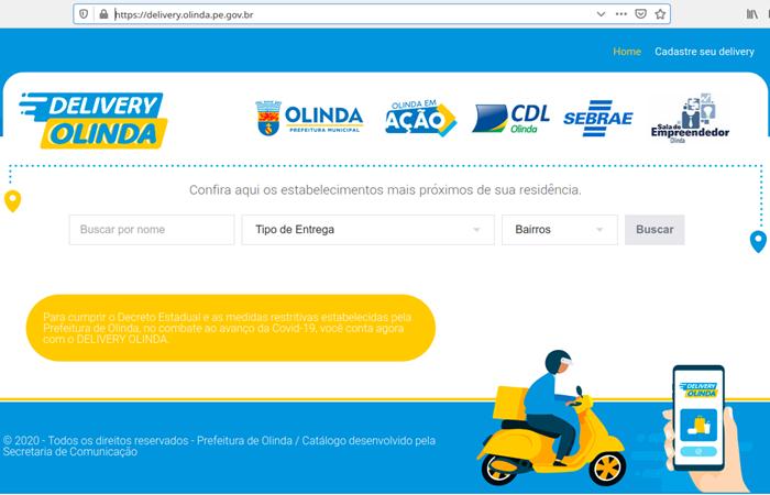 Os sites visam dar visibilidade aos negócios locais.