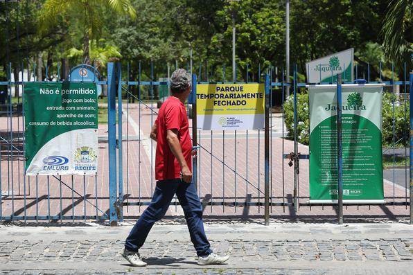 MPPE recomenda fechamento de parques, praças e praias do Recife ...