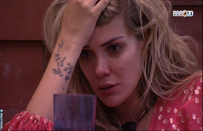 A médica deixou o reality com 49,76% de rejeição (Foto: Reprodução/Rede Globo)