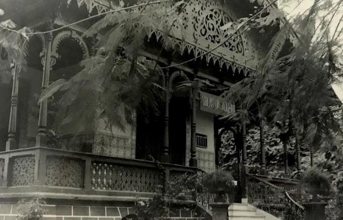 Primeiro prédio da Biblioteca, na Avenida Rui Barbosa. (Foto: Fundaj/Divulgação)