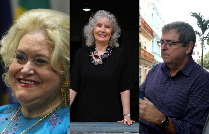 Lourdes Sarmento, Fátima Quintas e Jacques Ribemboim (Foto: Paulo Paiva/DP, Gabriel Melo/DP e João Velozo/DP)