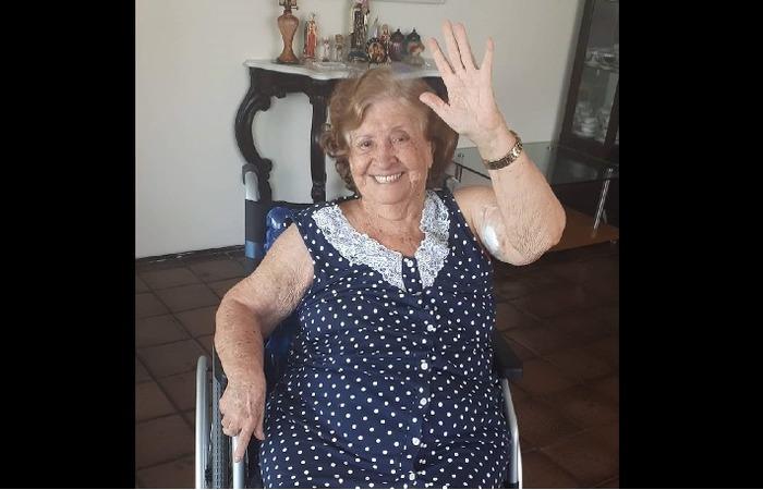Maria Albani, aos 93 anos, morreu dois dias depois da filha falar com ela. (Foto: cortesia )