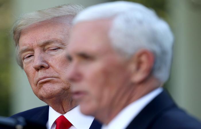 Atualmente, o grupo da força-tarefa contra o novo coronavírus é chefiado pelo vice-presidente americano, Mike Pence (Foto: Win McNamee/Getty Images North America/Getty Images via AFP)