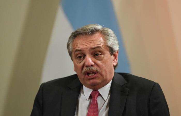 Alberto Fernández, presidente argentino, teve reforço das sinalizações sobre os planos governamentais na reunião (Foto: Arquivo/AFP)
