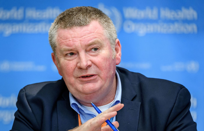Mike Ryan, especialista em emergências da OMS. (Foto: Fabrice Coffrini/AFP)