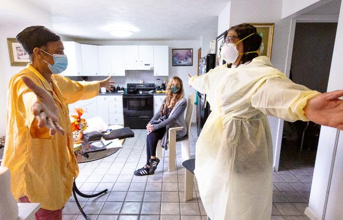 Neste domingo, o estado recebeu a confirmação de 2 mil novas curas. (Foto: Arturo Holmes/Getty Images via AFP.)