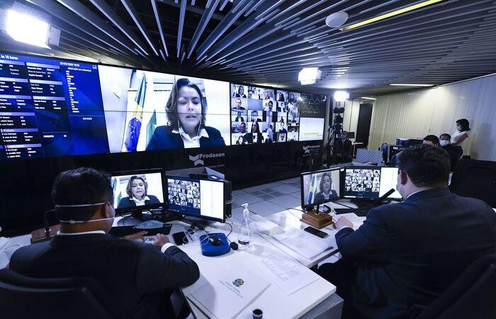 Após a aprovação, o texto segue para a promulgação (Foto: Jefferson Rudy/Agência Brasil)