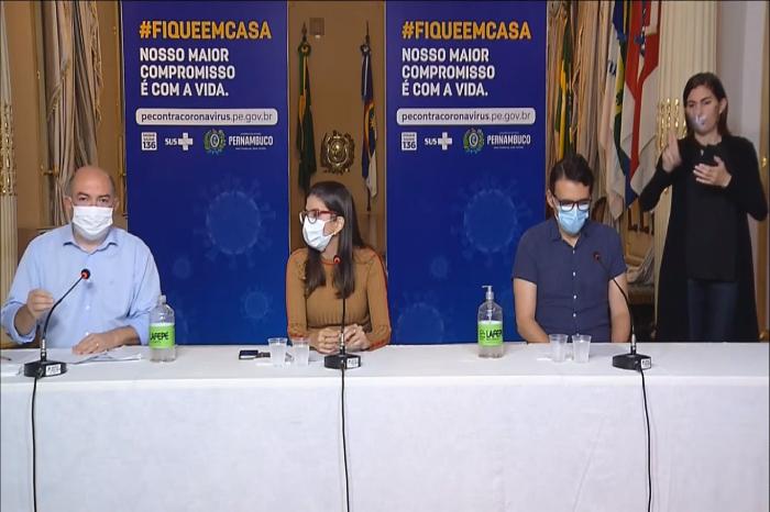 Anúncio foi feito em coletiva de imprensa realizada virtualmente na tarde desta segunda. (Foto: YouTube/Reprodução)