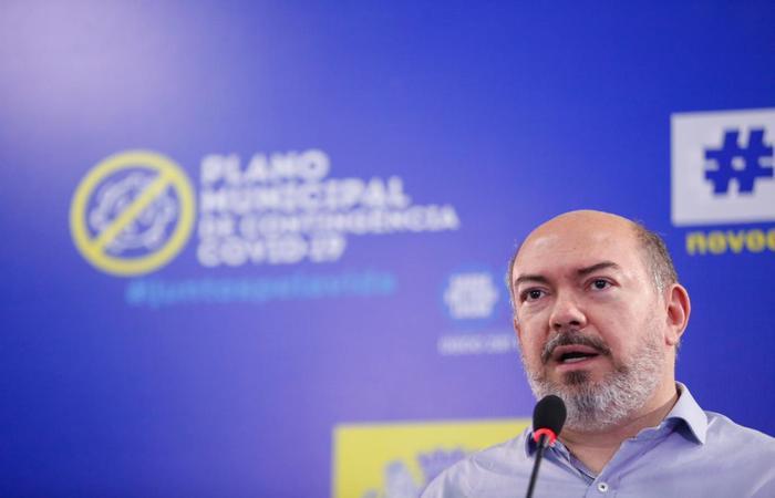 Jailson Correia é secretário de saúde do Recife (Andrea Rêgo Barros/ PCR)