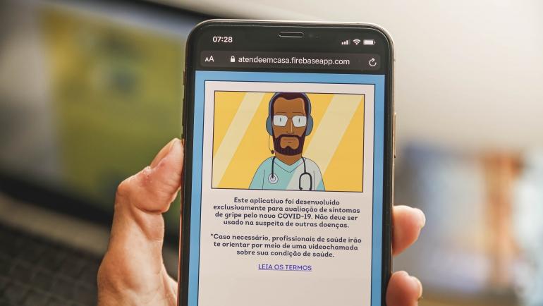 O aplicativo está disponível pela internet e para smartphones Android. (Foto: Andréa Rêgo Barros/Divulgação)