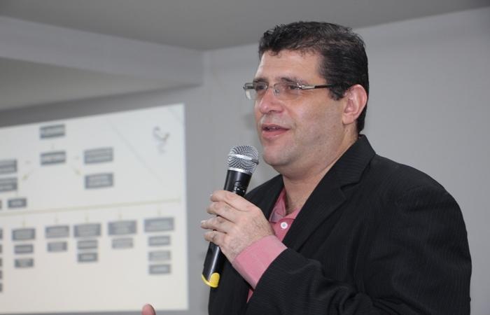 Aldo César Passilongo da Silva é presidente do Conselho Regional de Farmácia de Pernambuco (Foto: Roberta Patu /CRFPE)