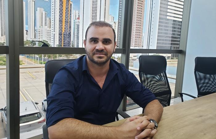 O empresário Felipe Zaidan viu, nos últimos 60 dias, a busca de clientes por imóveis com este perfil aumentar em até 30% (Foto: Bárbara Travassos)