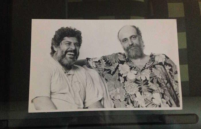 Maurício Tapajós e Aldir Blanc (Foto: Acervo)