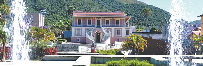 O Museu Histórico e Geográfico fica localizado em um lindo casarão do século 19, conhecido como Villa Junqueira  (Prefeitura de Poços de Caldas/divulgação)