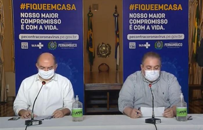 Jailson Correia e André Longo afirmaram que aglomerações ainda não podem ocorrer (Foto: Reprodução / Youtube)