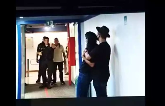 A jornalista foi feita de refém na quarta-feira (Foto: Reprodução/Internet)