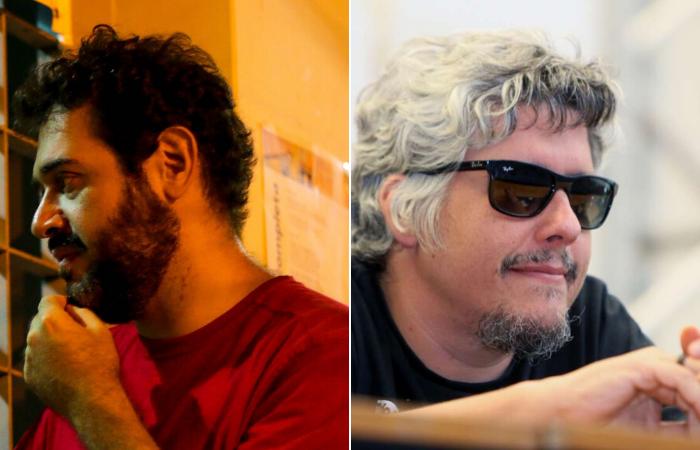 André Dib e Camilo Cavalcante participam do debate. (Foto: Divulgação e Aline Arruda/Reprodução)