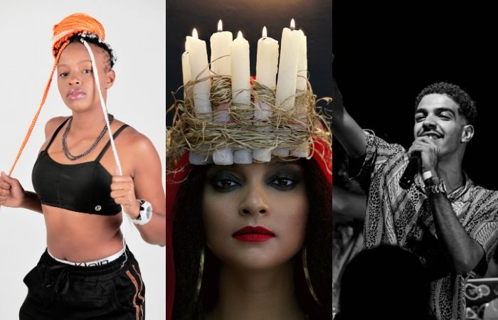 Rayssa Dias (PE), MC Tha (SP) e Leo da Bodega (PE) estão entre os nomes da programação (Foto: Divulgação)