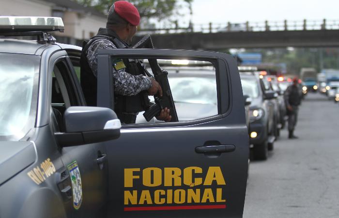Em Pernambuco, Força Nacional está presente em Paulista, RMR. (Foto: Peu Ricardo/DP.)