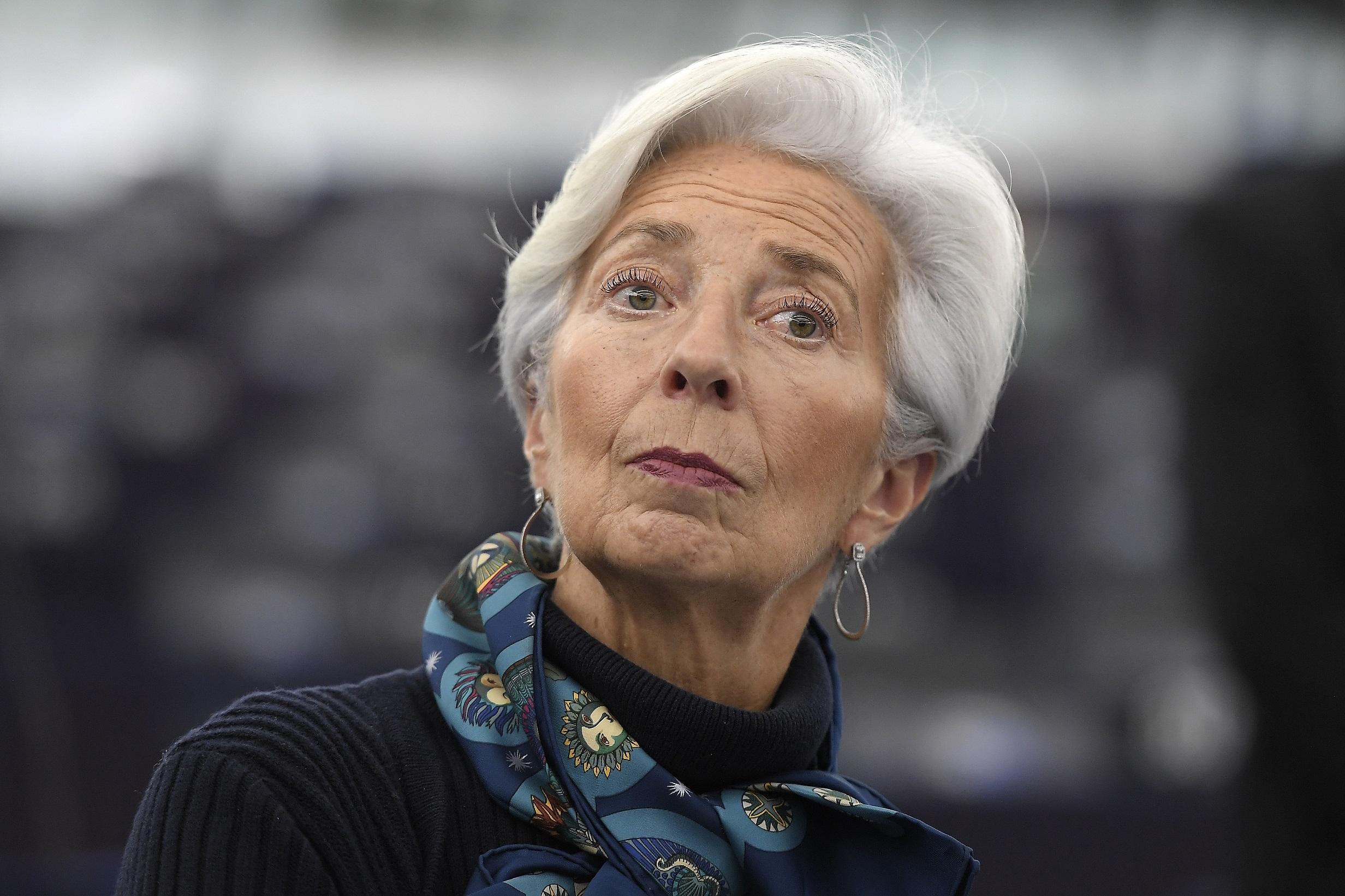 (Christine Lagarde, presidente do Banco Central Europeu. Foto: FREDERICK FLORIN / AFP)
