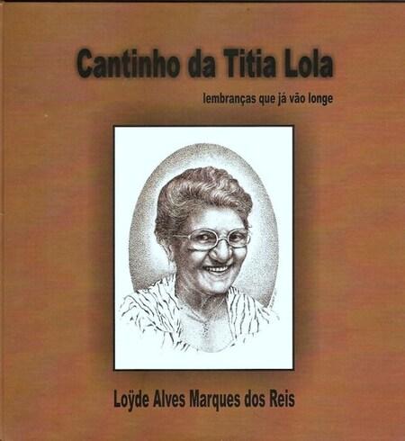 Capa do livro Cantinho da Tia Lola, de 2011 (Foto: Novoestilo/Divulgação)