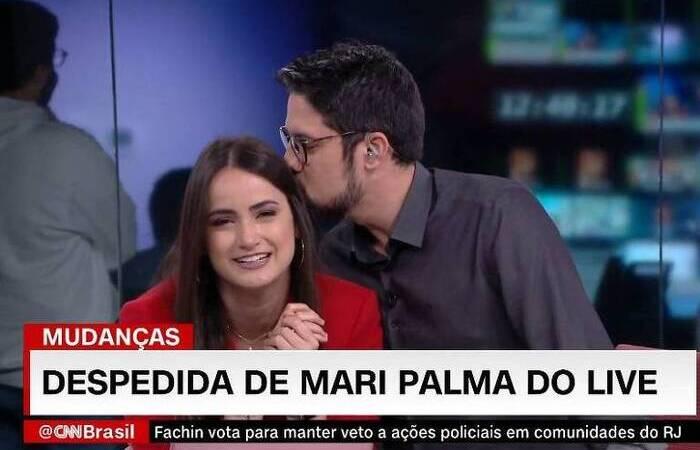 Mari Palma agora segue para o CNN Tonight (Foto: Reprodução/CNN Brasil )