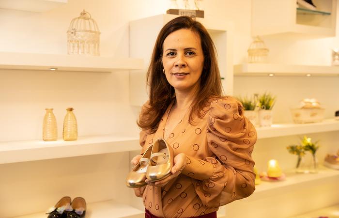 Kaline Alcantara usou recursos próprios e antecipou abertura de filial da loja. (Foto: Luiz Fabiano/Divulgação)