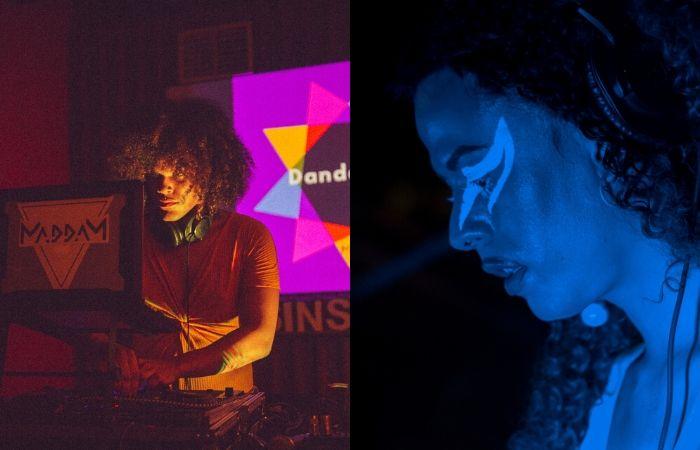 Dandarona e Lilit, residentes da MaddaM Music (Foto: Pavoa/Divulgação)