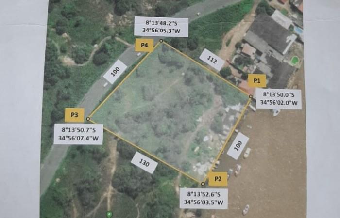 Área de 12.000 m² reivindicada pelos trabalhadores (Foto: Reprodução )