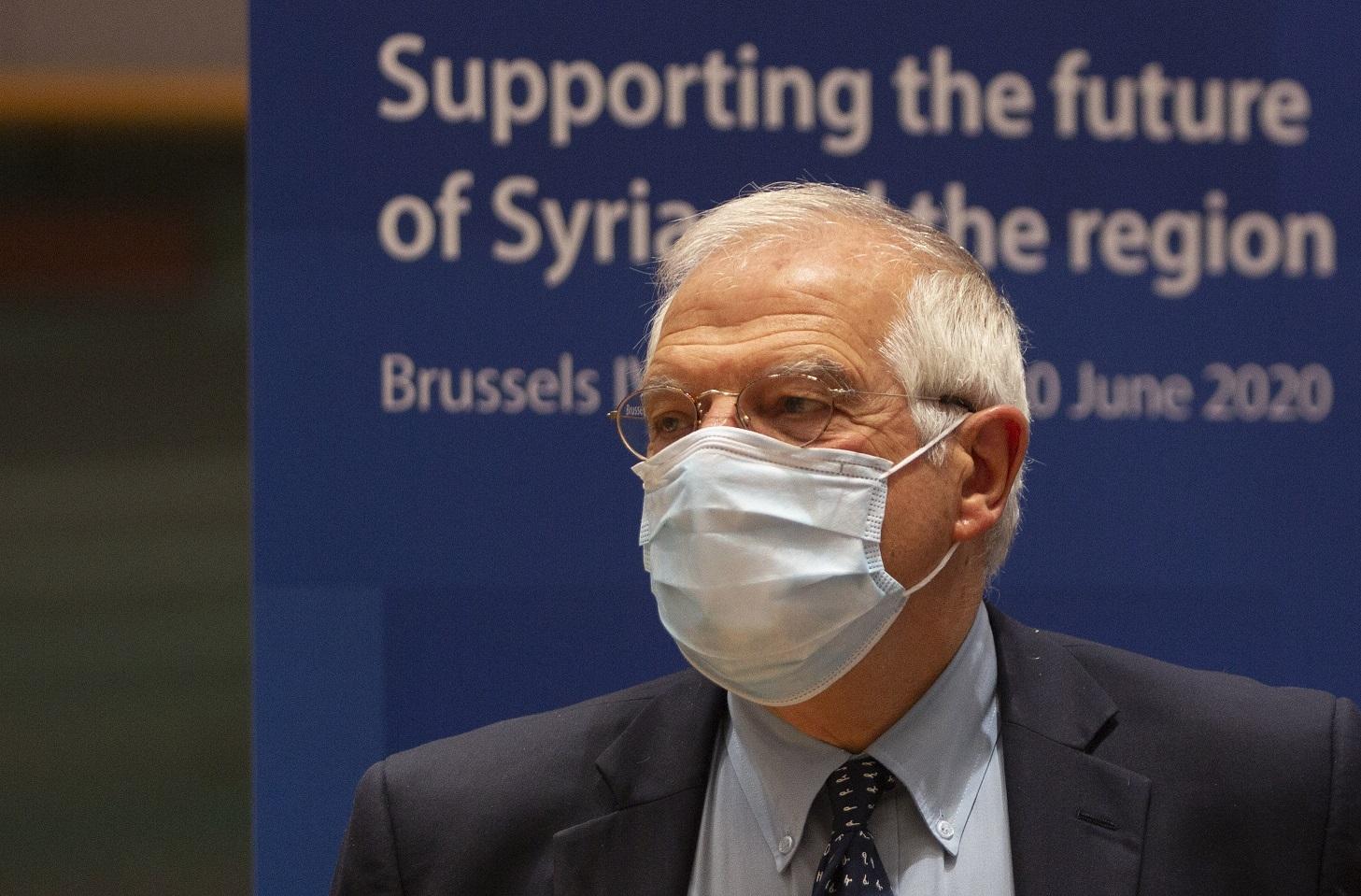 (Chefe da diplomacia europeia, Josep Borrell. Foto: Virginia Mayo / POOL / AFP)