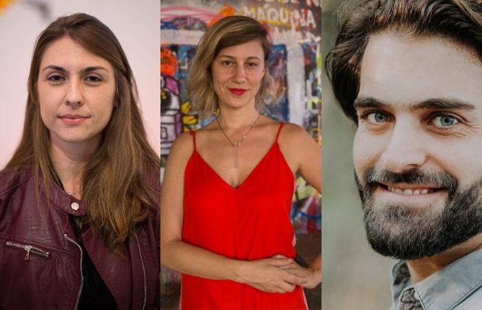 Fernanda Nave, Ana Garcia e Henrique Chaves participam do debate (Foto: Atraves.tv, Hanna Carvalho e Barbara Dutra/Divulgação)