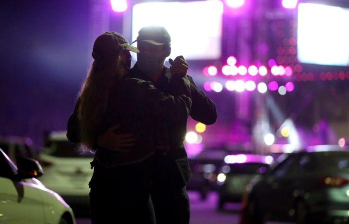 Evento de música country em Ventura, nos Estados Unidos (Foto: Rich Fury/AFP)