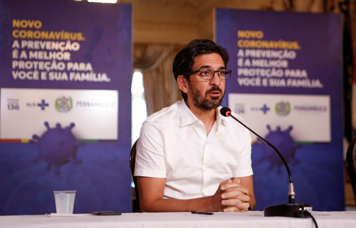 Bruno Schwambach ressaltou que análises estão sendo feitas com recortes regionais.  (Foto: Governo de Pernambuco/Divulgação)