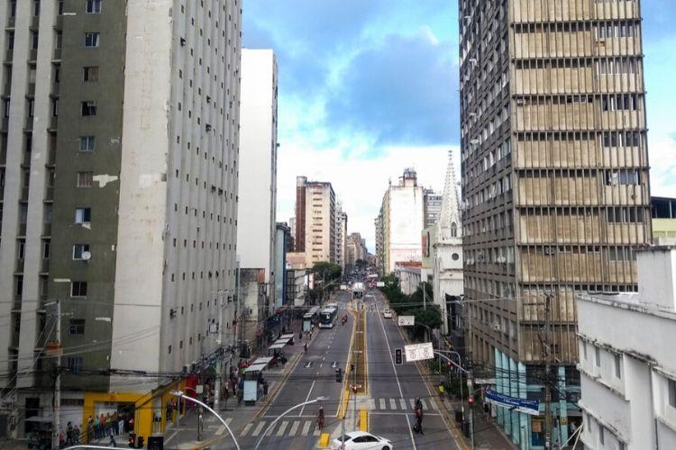 Das principais vias do Recife, a Conde da Boa Vista passou por intervenção recente  (Tarciso Augusto/ DP Foto)