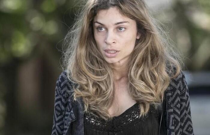 Grazi deu vida à modelo Larissa, que se prostituía e acabava se envolvendo com drogas (Foto: Divulgação)