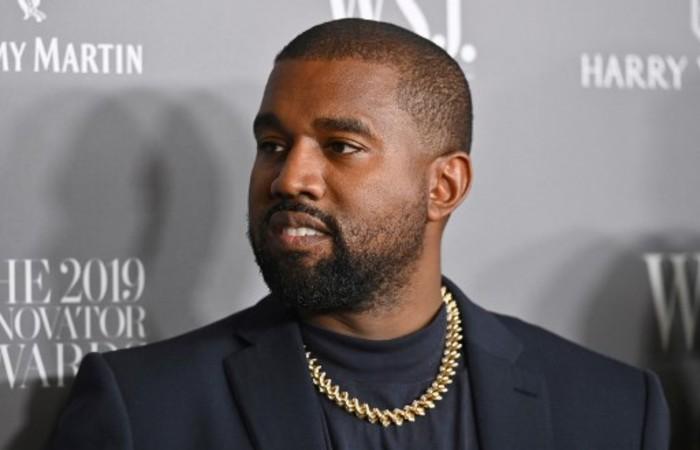 O rapper Kanye West afirmou no sábado (5) que deve concorrer à presidência dos Estados Unidos (Foto: Angela Weiss / AFP)