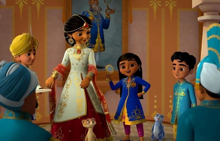 Música e dança são dois elementos-chave na série animada Mira, a detetive do reino (Foto: Divulgação)