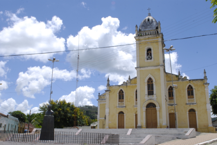 Os espaços religiosos precisarão seguir um rígido protocolo. Na foto, a Igreja de Nossa Senhora da Conceição, em Bonito. (Foto: Inês Campelo/Arquivo DP)
