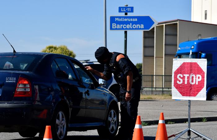 Região de Lérida, no nordeste da Espanha, terá novo confinamento. (Foto: Pau Barrena/AFP.)