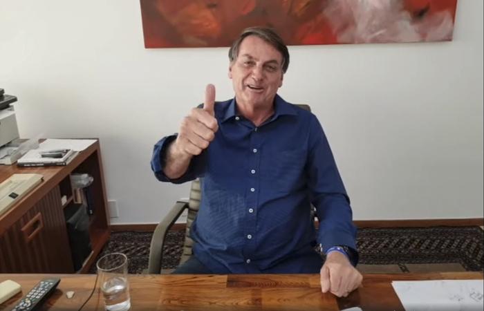 (Foto: Stringer/Jair Bolsonaro in Facebook/AFP)