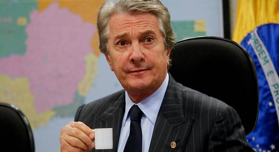 Fernando Collor é ex-presidente e atualmente cumpre mandato como senador  (Reprodução Twitter)