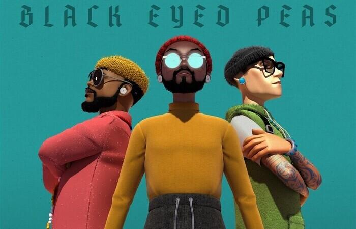 Trio em animação, na capa do Translation (Foto: Epic Records/Divulgação)