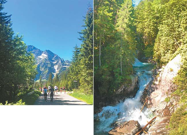 Da entrada do parque até o lago, o viajante enfrenta uma caminhada de 8,5 km. Uma das atrações mais visitadas da trilha são as quedas de água com até 10 metros de altura (Fotos: Fábio Jardelino/cortesia)