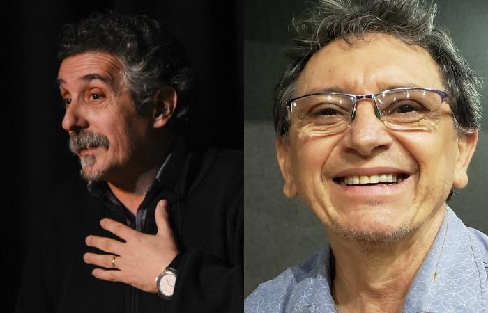 O historiador argentino Jorge Dubatti e o gerente de cultura do Sesc, José Manoel Sobrinho participam dos bate-papos (Fotos: Divulgação)