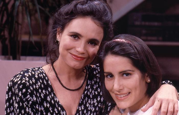 Raquel Accioli (Regina Duarte) e Maria de Fátima (Gloria Pires), protagonistas de Vale Tudo (Foto: TV Globo/Divulgação)