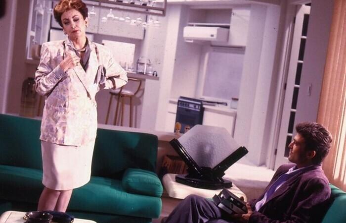 A clássica vilã Odete Roitman (Beatriz Segall) (Foto: TV Globo/Divulgação)