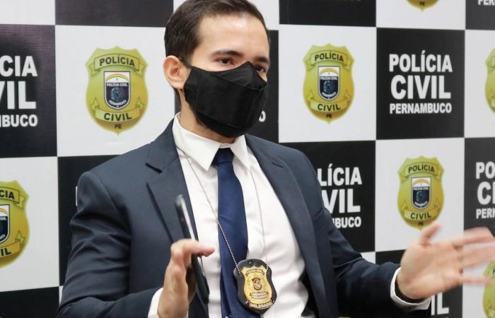 'Ele não tinha um padrão fixo (de vítima), era simplesmente um criminoso contumaz que acreditava na falta de punição', explica o delegado Rafael Duarte. (Foto: Reprodução/PCPE.)