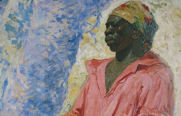 Zumbi em pintura de Antônio Parreiras (Foto: Reprodução da Internet)