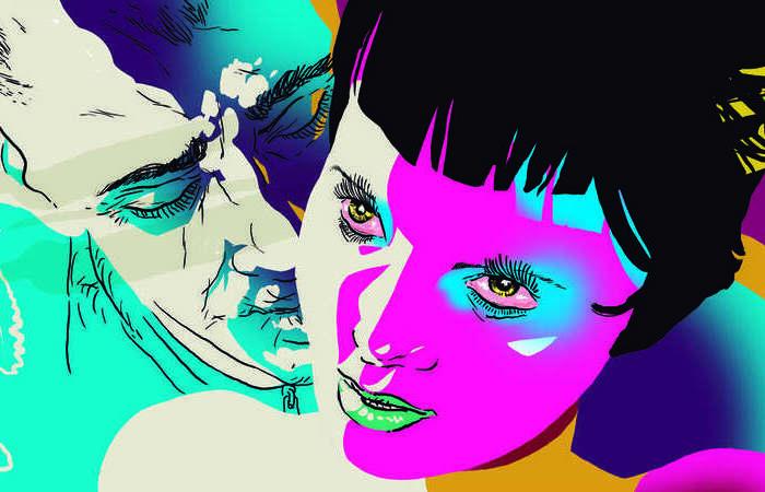 A série de fantasia 'O beijo adolescente' nasceu das graphic novels do quadrinista pauslita Rafael Coutinho, que participa da adaptação como consultor (Foto: Reprodução/Rafael Coutinho)