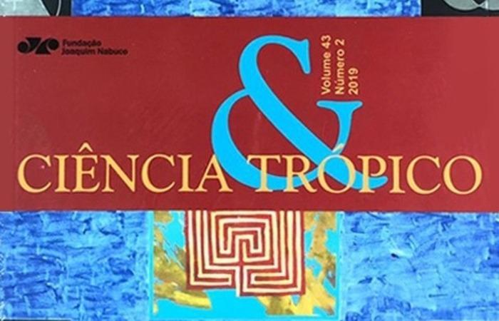 Capa do volume 43, número 2 da Revista Ciência & Trópico. (Foto: Editora Massangana/Divulgação)